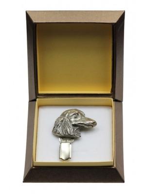 Dachshund - clip (silver plate) - 2580 - 28161