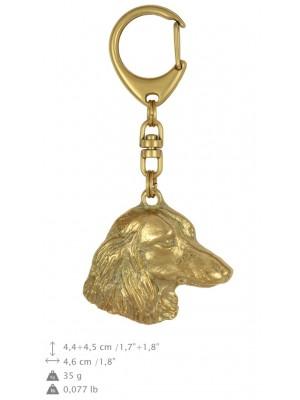 Dachshund - keyring (gold plating) - 834 - 25164