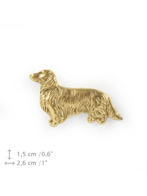 Dachshund - pin (gold plating) - 1096 - 7901