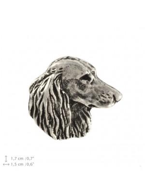 Dachshund - pin (silver plate) - 2234 - 22329