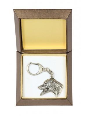 Dalmatian - keyring (silver plate) - 2721 - 29840