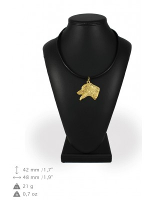 Dalmatian - necklace (gold plating) - 900 - 31200