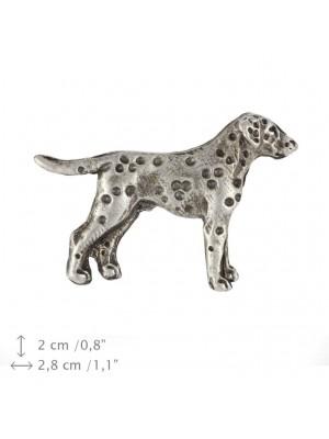 Dalmatian - pin (silver plate) - 442 - 25857