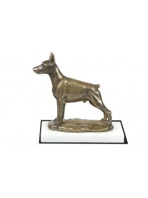 Doberman pincher - figurine (bronze) - 4564 - 41210