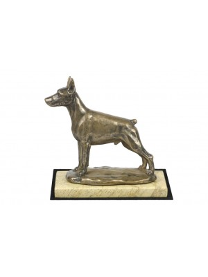 Doberman pincher - figurine (bronze) - 4652 - 41687