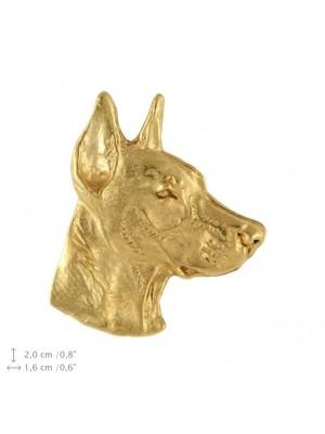 Doberman pincher - pin (gold plating) - 2378 - 26110