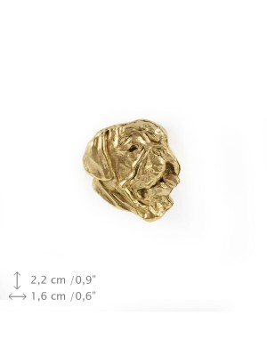 Dog de Bordeaux - pin (gold plating) - 1077 - 7871