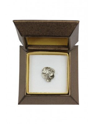 Dog de Bordeaux - pin (silver plate) - 2655 - 28937