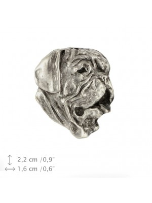 Dog de Bordeaux - pin (silver plate) - 470 - 25989