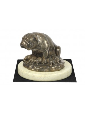 English Bulldog - figurine (bronze) - 4647 - 41662
