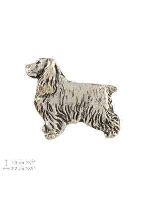 English Cocker Spaniel - pin (silver plate) - 464 - 22228