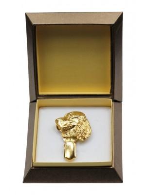 English Springer Spaniel - clip (gold plating) - 2609 - 28570