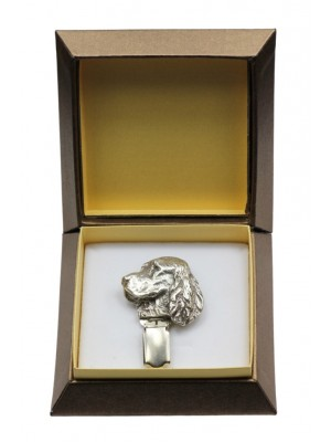 English Springer Spaniel - clip (silver plate) - 2561 - 28142