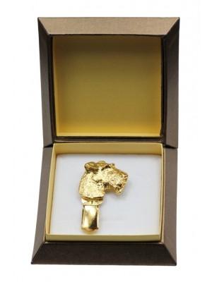 Foksterier - clip (gold plating) - 2620 - 28581