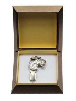 Foksterier - clip (silver plate) - 2569 - 28150