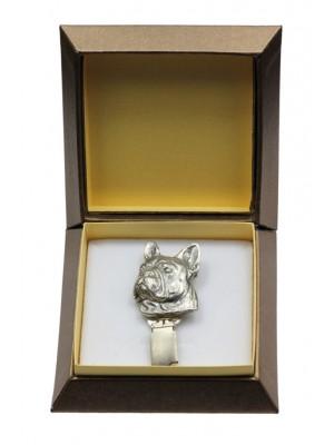 French Bulldog - clip (silver plate) - 2543 - 28124