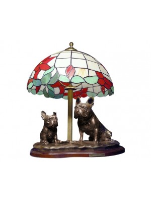 French Bulldog - lamp (bronze) - 658 - 35513