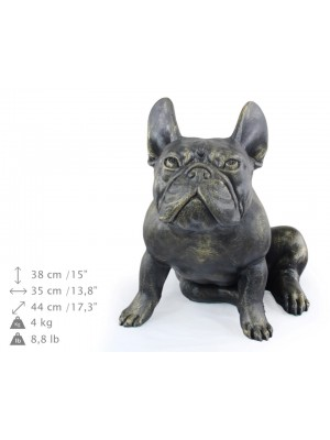 French Bulldog - statue (resin) - 661 - 21754