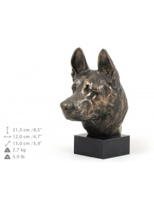 German Shepherd - figurine (bronze) - 222 - 9146