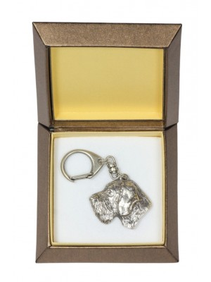 German Wirehaired Pointer - keyring (silver plate) - 2800 - 29920