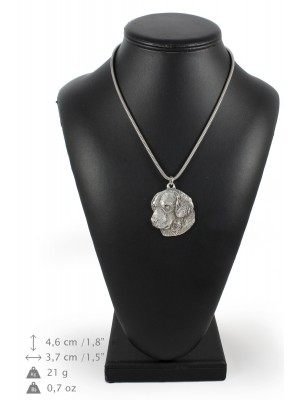 Golden Retriever - necklace (silver chain) - 3270 - 34216