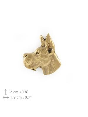 Great Dane - pin (gold plating) - 1088 - 7926