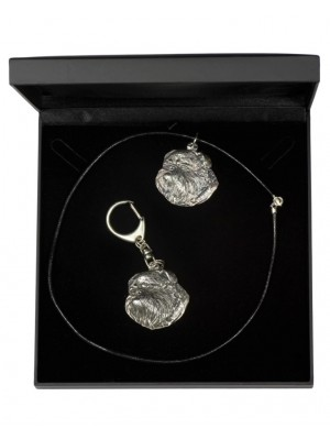 Griffon - keyring (silver plate) - 1778 - 11616