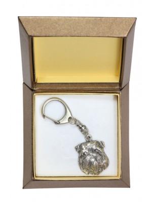 Griffon - keyring (silver plate) - 2824 - 29946
