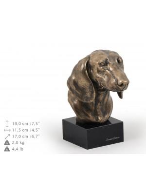 Jamnik Gładkowłosy - figurine (bronze) - 202 - 9130