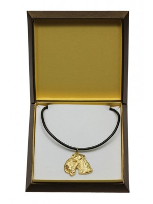Lakeland Terrier - necklace (gold plating) - 3072 - 31708