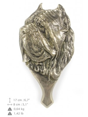 Neapolitan Mastiff - knocker (brass) - 336 - 7333