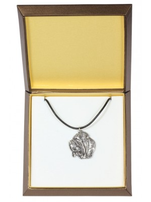 Neapolitan Mastiff - necklace (silver plate) - 2916 - 31060