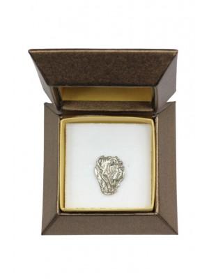 Neapolitan Mastiff - pin (silver plate) - 2641 - 28922