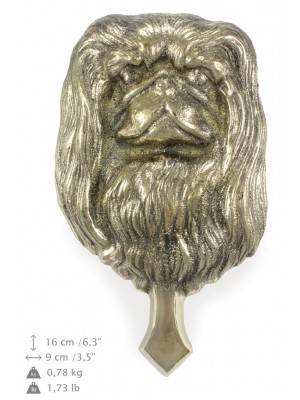 Pekingese - knocker (brass) - 337 - 7341