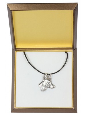 Pharaoh Hound - necklace (silver plate) - 2970 - 31113