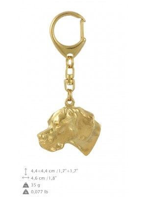 Pointer - keyring (gold plating) - 813 - 30004