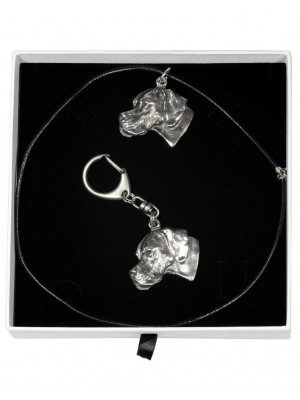 Pointer - keyring (silver plate) - 1959 - 14994