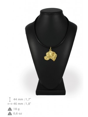 Pointer - necklace (gold plating) - 929 - 31254