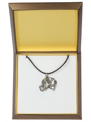 Pointer - necklace (silver plate) - 2931 - 31075