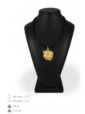 Pug - necklace (gold plating) - 992 - 31350