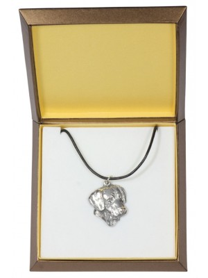 Rhodesian Ridgeback - necklace (silver plate) - 2927 - 31071