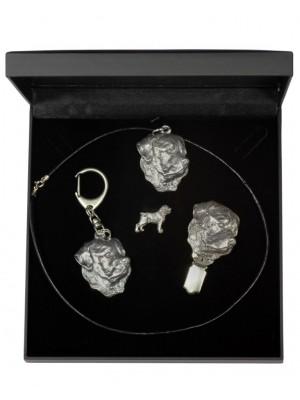 Rottweiler - keyring (silver plate) - 1909 - 13902