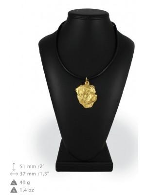 Rottweiler - necklace (gold plating) - 896 - 25302