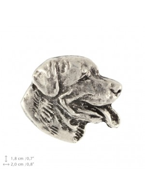 Rottweiler - pin (silver plate) - 2369 - 26075