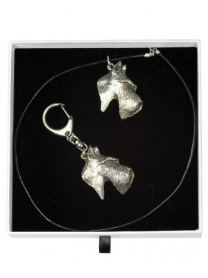 Scottish Terrier - keyring (silver plate) - 1986 - 15608