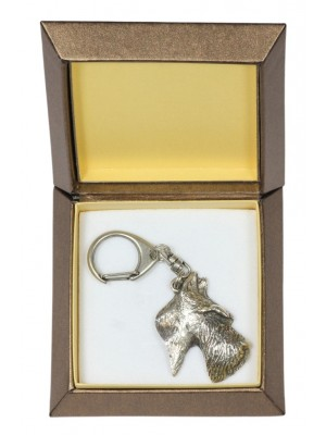 Scottish Terrier - keyring (silver plate) - 2770 - 29890