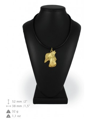 Scottish Terrier - necklace (gold plating) - 961 - 25456