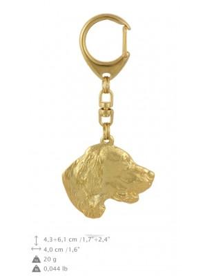 Setter - keyring (gold plating) - 817 - 30014