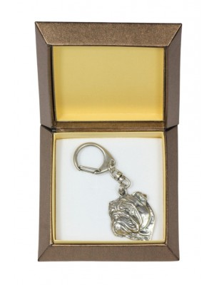 Shar Pei - keyring (silver plate) - 2735 - 29854