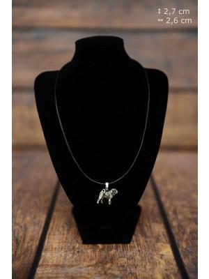 Shar Pei - necklace (strap) - 3868 - 37271